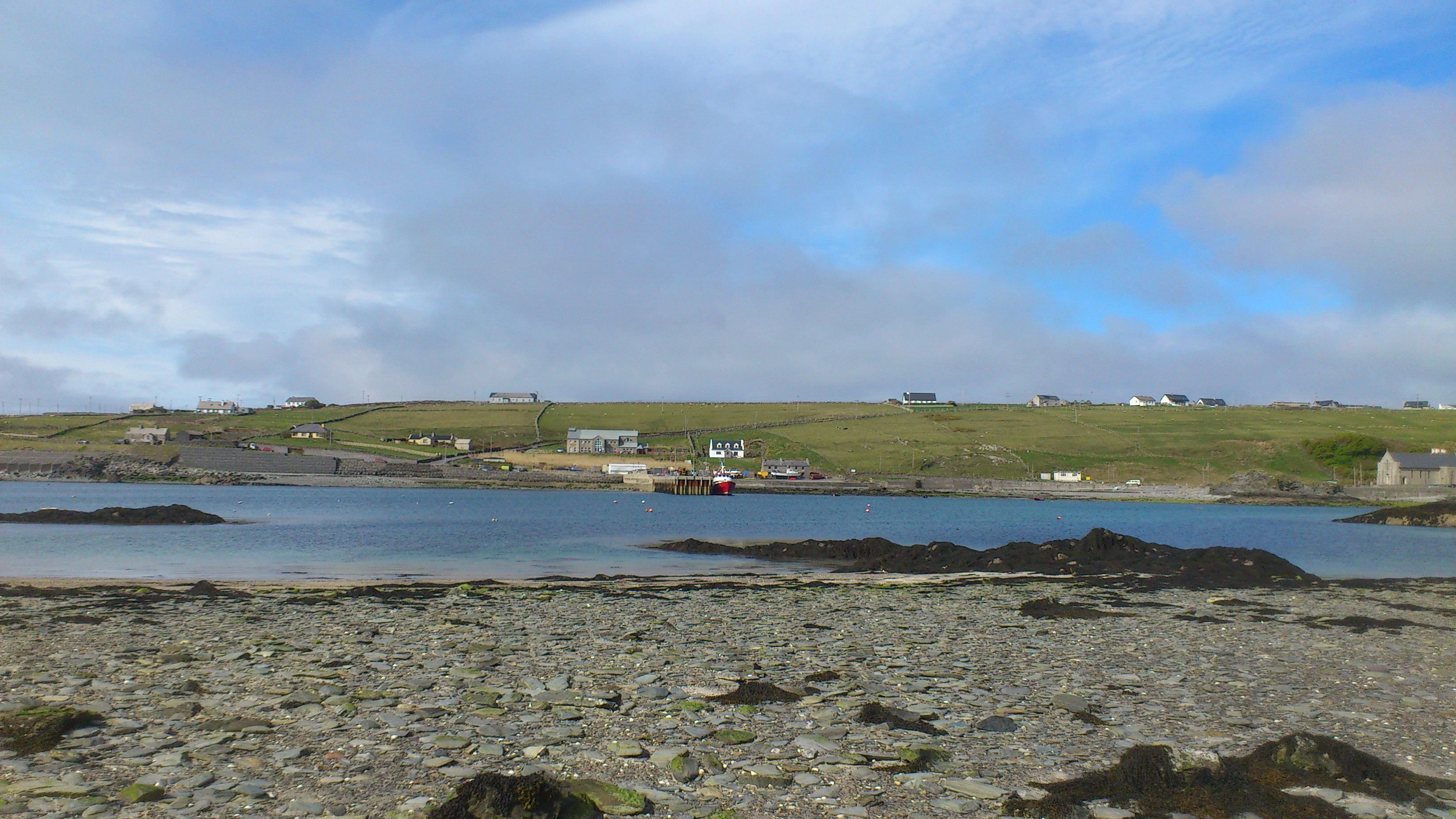 A quick update about our Easter trip to Inishbofin Island