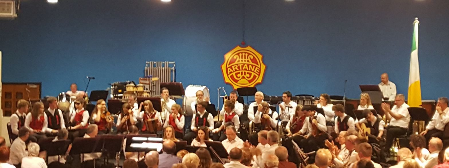 Over 18 performance at Artane School of Music Complex.